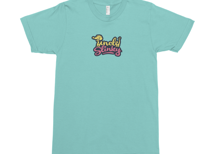 uncle slinky logo t shirt